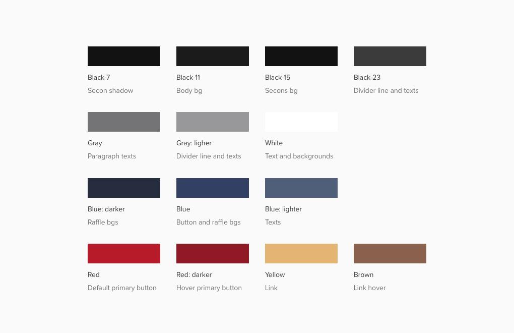 TOP: Web design case study: the colour scheme